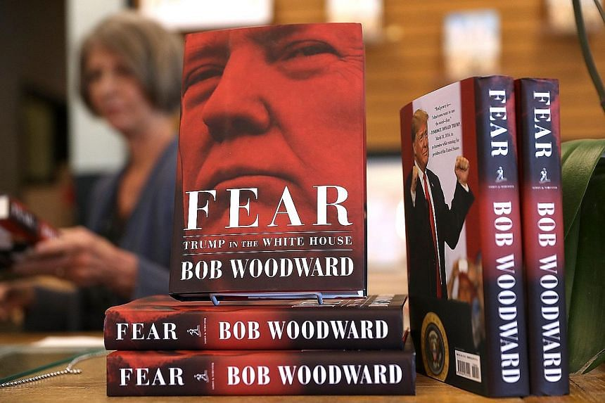 To chief strategist Steve Bannon (above), the rules-based, international democratic order is an old-world order, writes Bob Woodward in his book Fear: Trump In The White House (right).