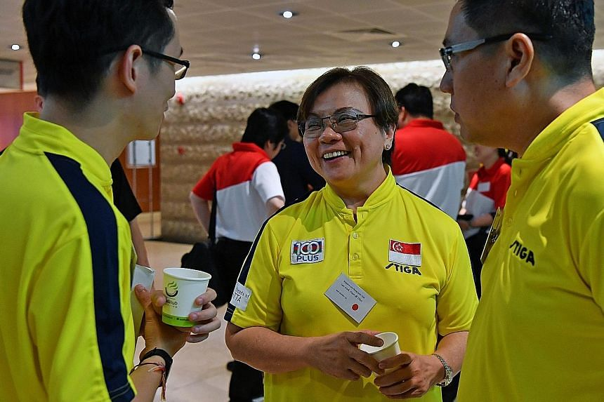 Ellen Lee secured the Singapore Table Tennis Association presidency yesterday and said she was thankful for the strong support.