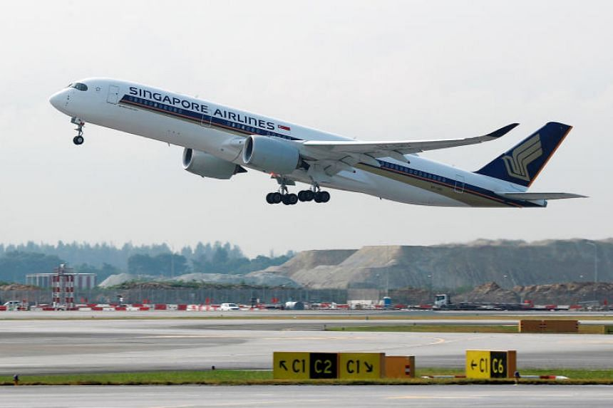 A Generic Photo Of Singapore Airlines Sia Plane An Flight From