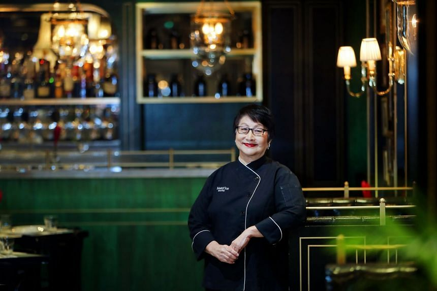 Cooking doyenne Violet Oon expects to open her first overseas restaurants in New York, London, Tokyo and Hong Kong.
