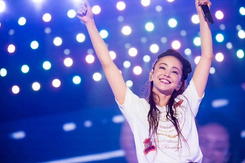 Namie Amuro first announced her intention to retire a year ago, on her 40th birthday.