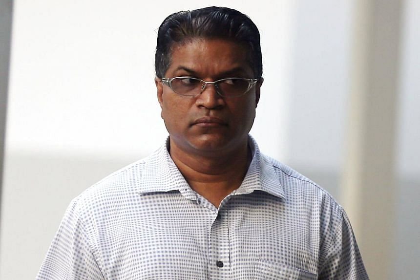 Jeevan Arumugam, 48, was jailed for 14 months for his involvement in a ruse which involved contracts submitted for repair and maintenance works.