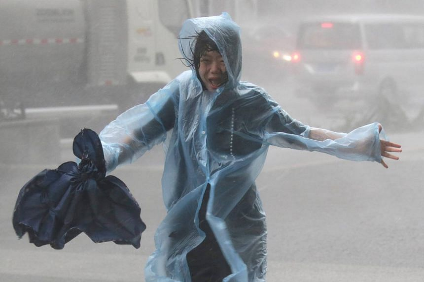 Super Typhoon Mangkhut had shut down the city all day after the Observatory gave the storm its highest warning signal on Sept 16, 2018.