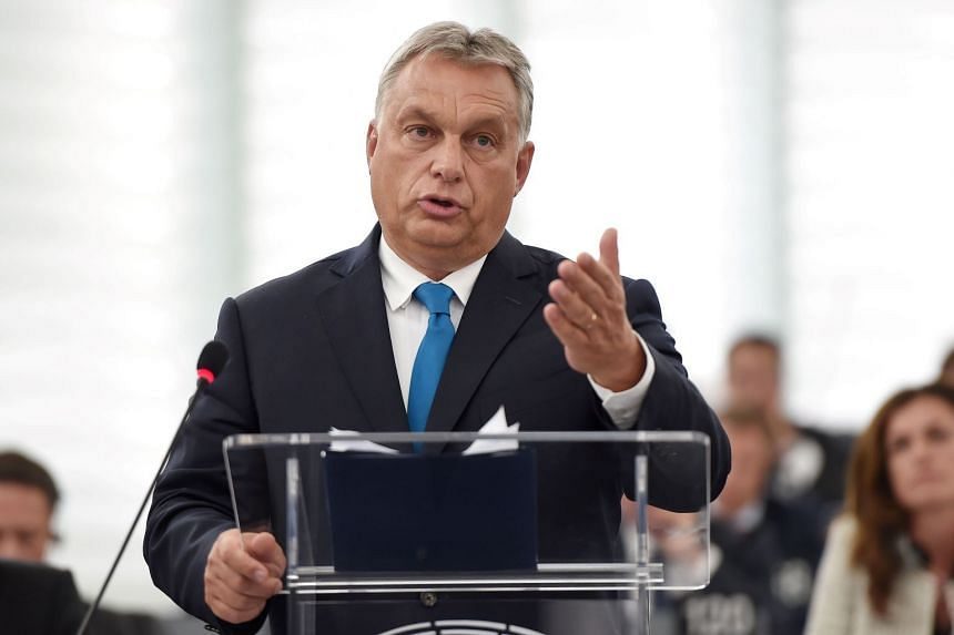 Hungary's Prime Minister Viktor Orban rejects the idea that he has anything to learn from western European leaders about dealing with Russia.