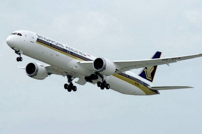 A Singapore Airlines flight from Melbourne to Wellington, New Zealand, was cancelled because a pilot failed an alcohol test on Sept 15, 2018.