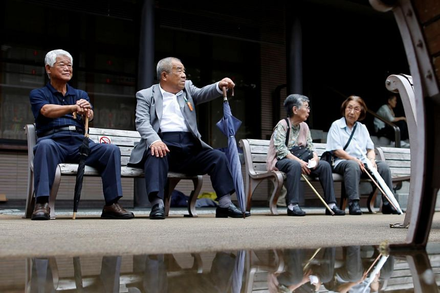 Those aged 65 or older now make up a record 35.6 million, or 28.1 per cent of Japan's total population.