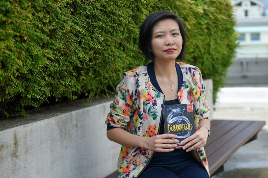 Teacher Xie Shi Min won the fourth Hedwig Anuar Children's Book Award with her book Dragonhearted, about a young Singaporean girl who has to defeat an ancient monster.