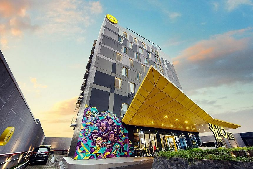Yello Hotel Manggarai Jakarta. Tauzia's in-house lifestyle brands include Harris hotels, Fox Harris hotels, Yello hotels and Pop! hotels. Most of Tauzia's hotels are located in Indonesia, with close to 60 per cent in key cities such as Jakarta, Bali,