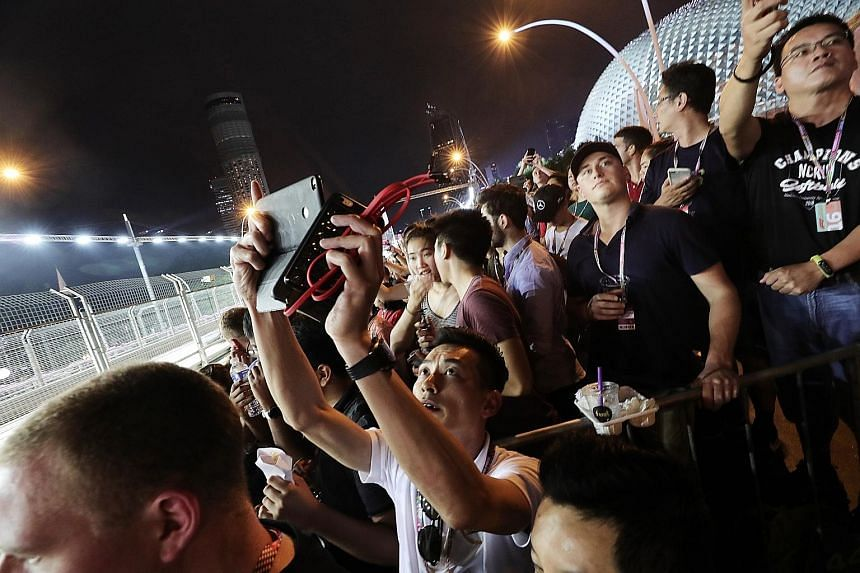 Besides the race itself, which drew 263,000 fans over three days, the Singapore Grand Prix also featured a slew of entertainment and hospitality offerings.