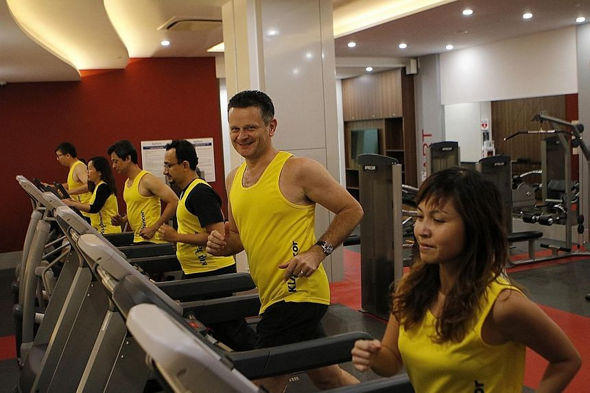 KLA-Tencor Singapore president Theo Kneepkens introduced mass running as an activity for his staff in 2006, to encourage healthier lifestyles. The US company, which provides process control systems for semiconductor and related industries, is taking
