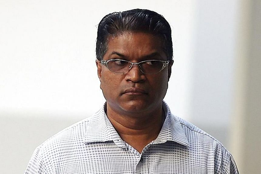 Jeevan Arumugam, 48, pleaded guilty on Aug 13 to five cheating charges involving $48,450.