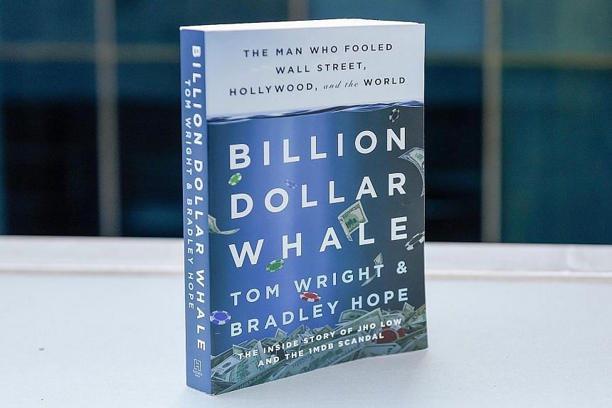 """The writers paint the story of Jho Low as a cautionary tale about """"the failure of global capitalism""""."""