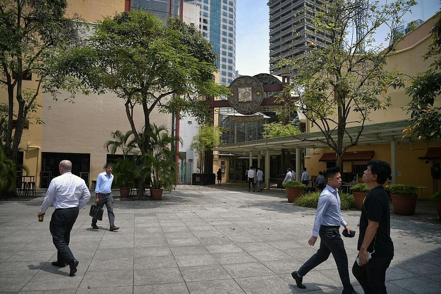 Far East Square (left) is part of the China Place precinct, while the SingPost centre (right) lies within the Paya Lebar precinct. Businesses and retailers are catching on to the idea of place-making, or the remaking of public spaces to rejuvenate an