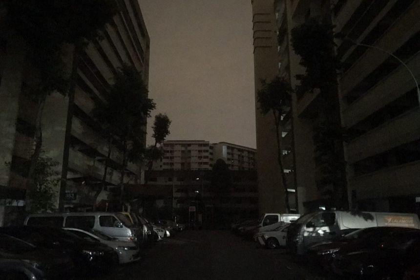 Several parts of Singapore, such as Yishun, were hit by a blackout in the wee hours of Sept 18, 2018.