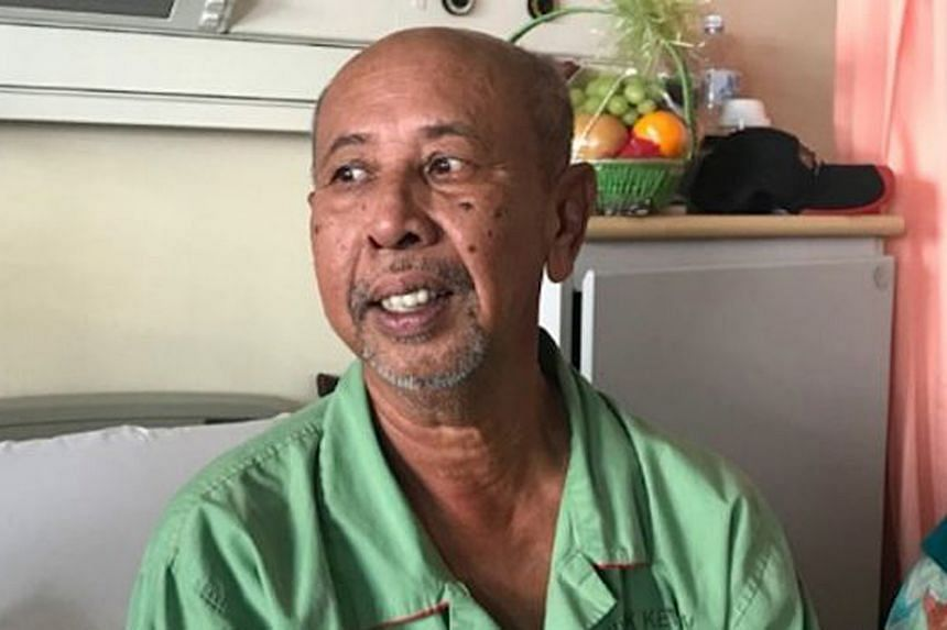 Beloved Malaysian actor and comedian Zaibo said he started vomiting whenever he ate solid food a few months ago and was admitted to a local hospital last month.