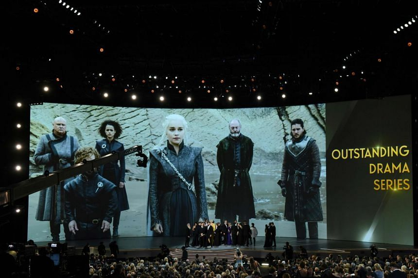 Game Of Thrones was the most-honoured show of the night, bagging nine awards in total including the coveted best drama prize.