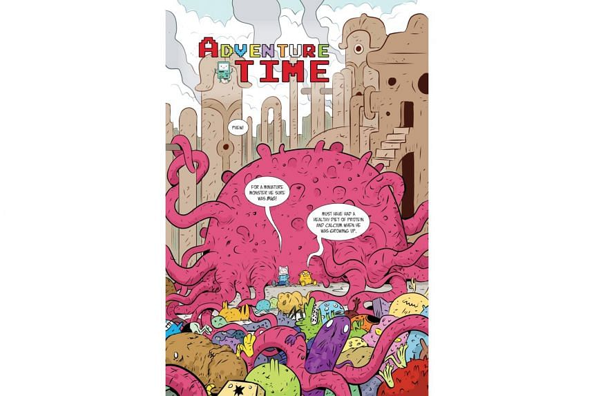 An excerpt of Sonny Liew's one-shot story for Adventure Time.