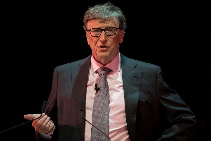 """Billionaire philanthropist Bill Gates put forward a """"simple idea"""" that investing in the health and education of Africa's younger generation would help tackle poverty."""