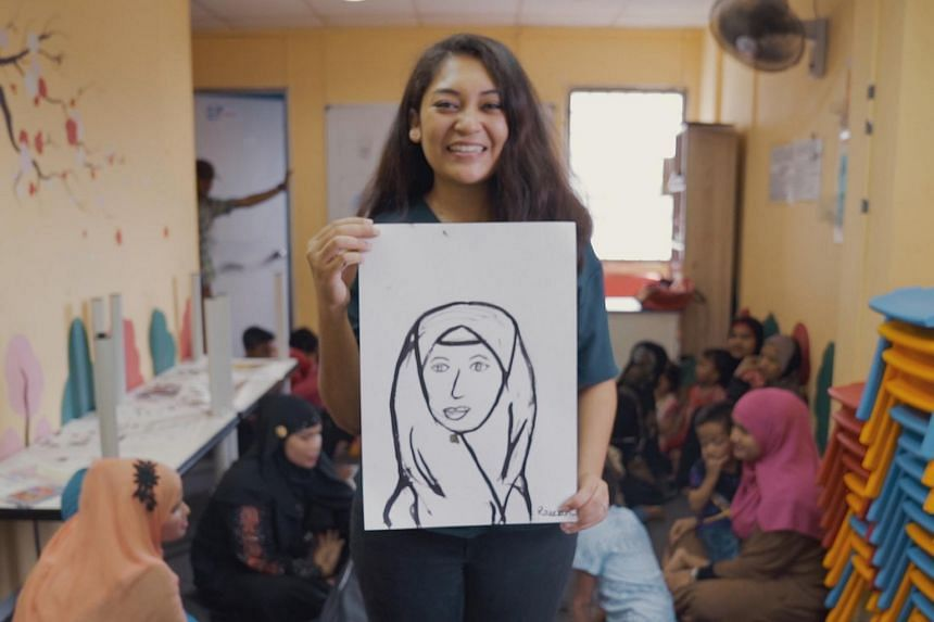 Raeesah Khan founded Reyna Movement in 2016 to empower women through different programmes.