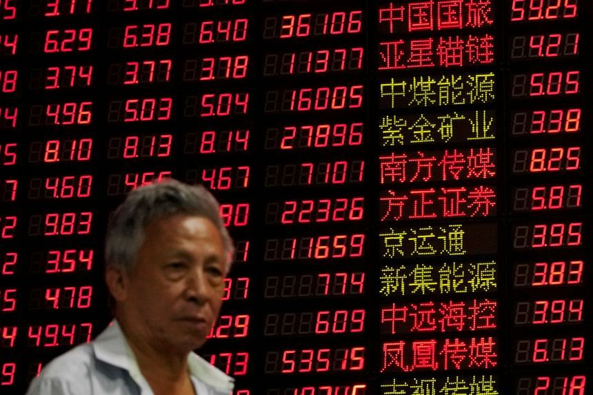In morning trading, Chinese markets bore the brunt of the selloff, with China's A50 Index losing 0.9 per cent and Hong Kong's Hang Seng retreating 0.6 per cent.