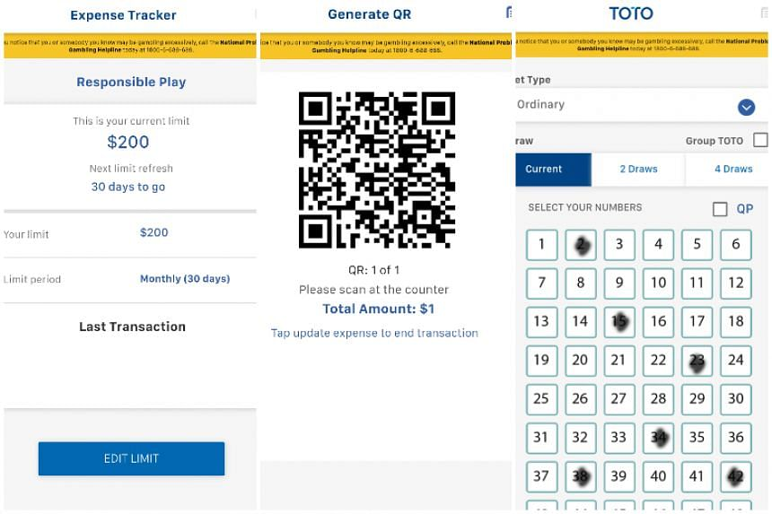 Singapore Pools' new eBetslip app allows punters to mark out 4D or Toto e-betting slips that will help cut down on the use of paper betting slips.