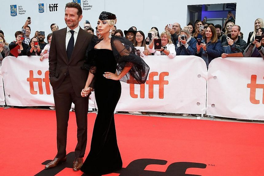 Black Panther, starring Chadwick Boseman, could be in the running for Best Picture. Actor Bradley Cooper with singer-actress Lady Gaga at the world premiere of A Star Is Born at the Toronto International Film Festival in Canada earlier this month. Th