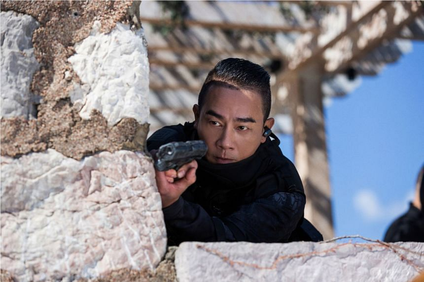 Jordan Chan plays the orphan Crater in the Hong Kong flick, Golden Job.