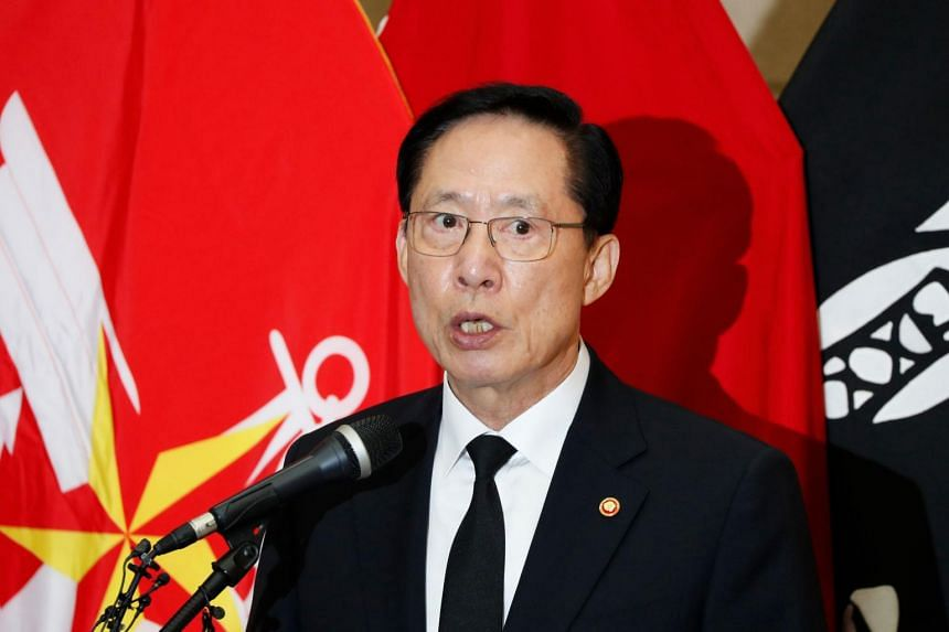 South Korea's Defence Minister Song Young-moo signed a military agreement with his North Korean counterpart to reduce tensions and prevent accidental clashes between the two countries.