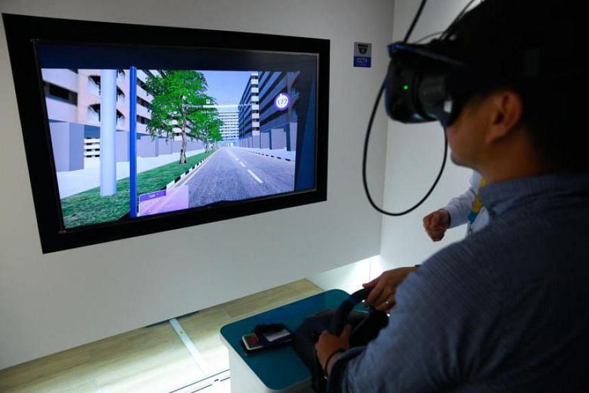 Virtual Reality (VR) and Augmented Reality (AR) exhibits in Zone 6 that highlight the various daily tasks that transport workers such as bus captains and rail technicians have to manage on a daily basis.