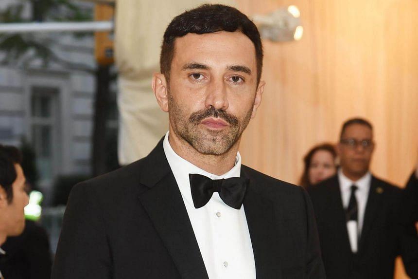 Burberry's new designer Riccardo Tisci.