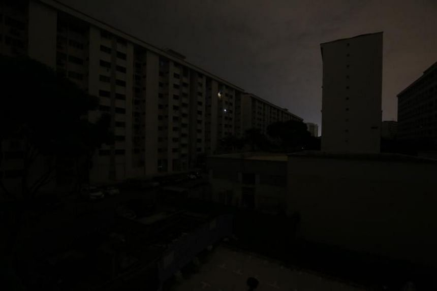 Several parts of Singapore were hit by a blackout in the wee hours of Sept 18, 2018.