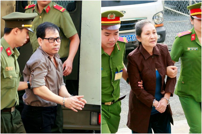 James Nguyen and Angel Phan, accused of running a network of underground operatives in Vietnam, were convicted after a two-day trial.