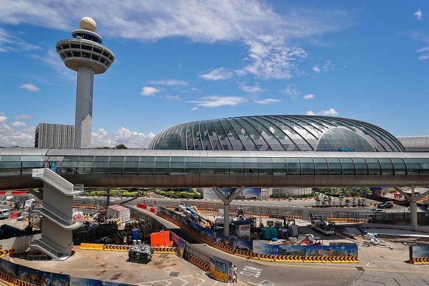 Changi Airport dropped from sixth to eighth spot in the global rankings, with London's Heathrow Airport topping the charts.