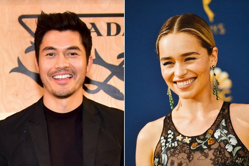 Henry Golding will star in a romantic comedy set in London with Game Of Thrones actress Emilia Clarke.