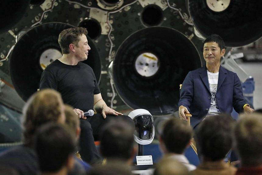 Japanese billionaire Yusaku Maezawa to be Space Xs first moon traveller