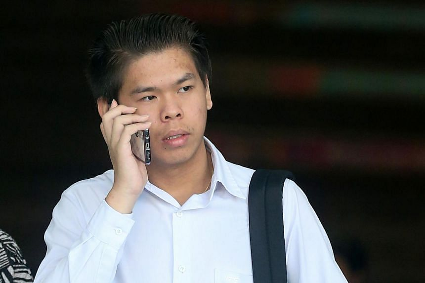 Ho Jun Wei pleaded guilty to causing grievous hurt through a rash act.