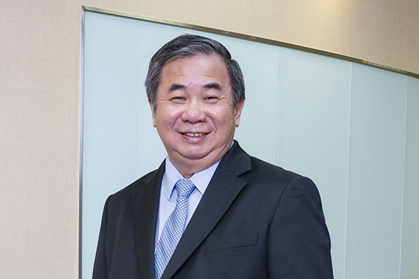 """Professor Freddy Boey, 62, was part of a team that won the President's Technology Award in 2014, and the winner of the President's Science and Technology Medal in 2013. He says: """"It is fortuitous that materials science is a sunrise-to-sunrise d"""