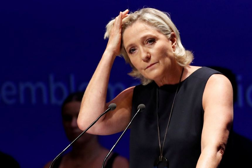French far-right leader Marine Le Pen shared images of atrocities committed by the Islamic State in Iraq and Syria (ISIS) in December 2015, a few weeks after ISIS militants killed 130 people in attacks in Paris.