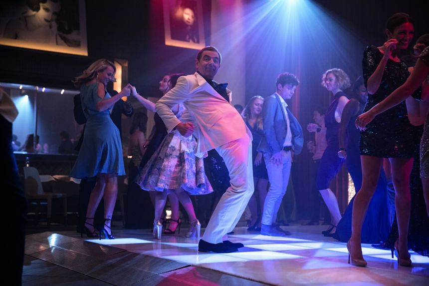 English comedian Rowan Atkinson's flair for physical comedy remains intact in his new movie, Johnny English Strikes Again.
