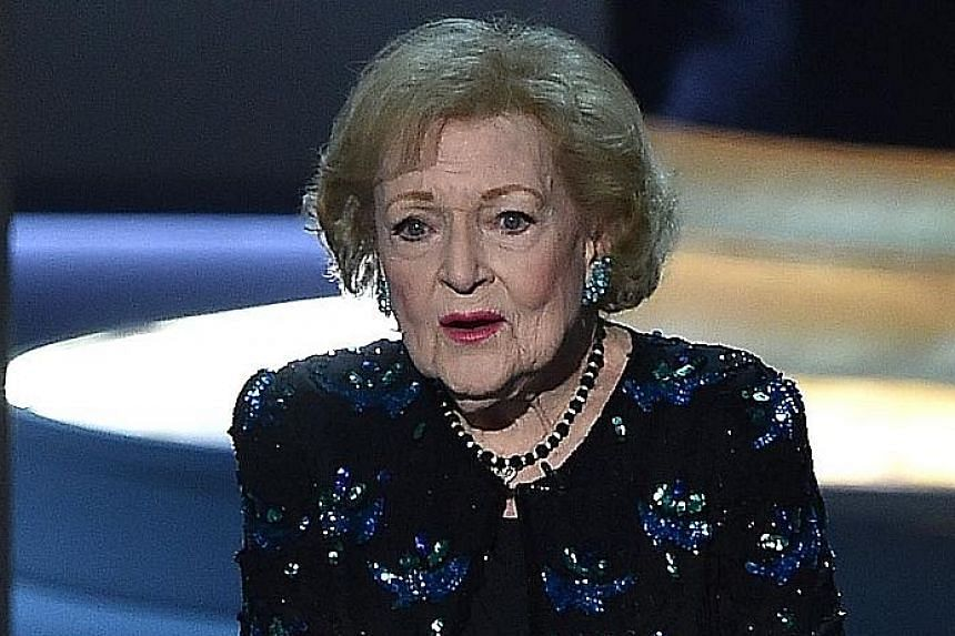 ACTRESS AND MULTIPLE-EMMY WINNER BETTY WHITE