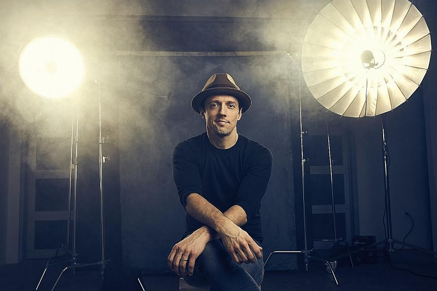 Grammy winner Jason Mraz built a career out of writing and singing wholesome songs.