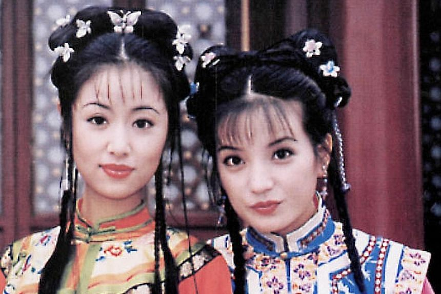 Ruby Lin (left) and Zhao Wei in the original My Fair Princess.