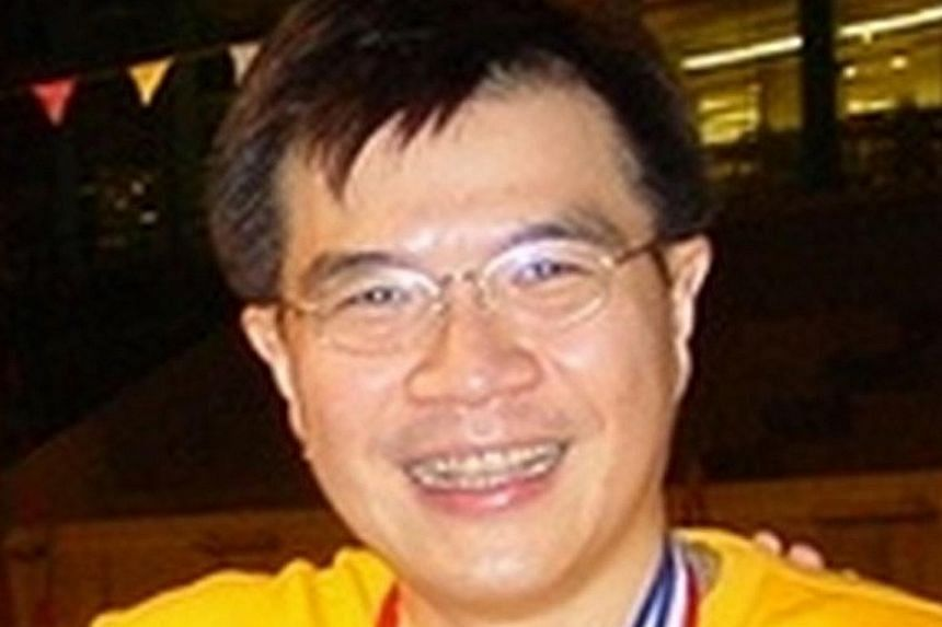 Khaw Kim Sun (above) placed a leaking yoga ball filled with carbon monoxide in the boot of a car (left), in which the bodies of his wife and daughter were later found.