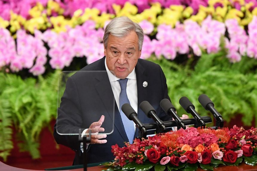 UN Secretary-General Antonio Guterres welcomed the announcement by North Korean leader Kim Jong Un during a summit with his South Korean counterpart Moon Jae-in in Pyongyang.