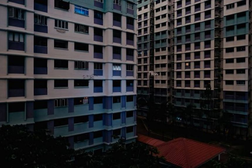 Several parts of Singapore, such as Sembawang, were hit by a blackout in the wee hours of Sept 18, 2018.