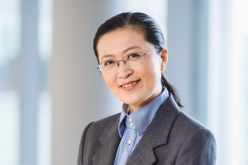 """The Provost's Chair and Head of the Department of Chemical and Biomolecular Engineering of National University of Singapore, Professor Liu Bin, 44, won the President's Technology Award in 2016 and the YSA in 2008. She says: """"Winning the President"""