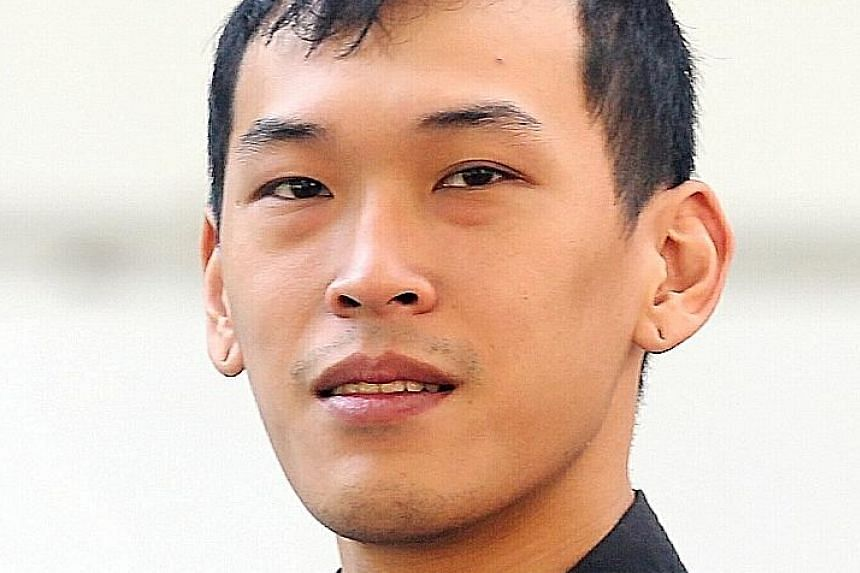 Odd-job worker Kang Chun How was sentenced to 11 months' jail and a fine of $9,000 yesterday.