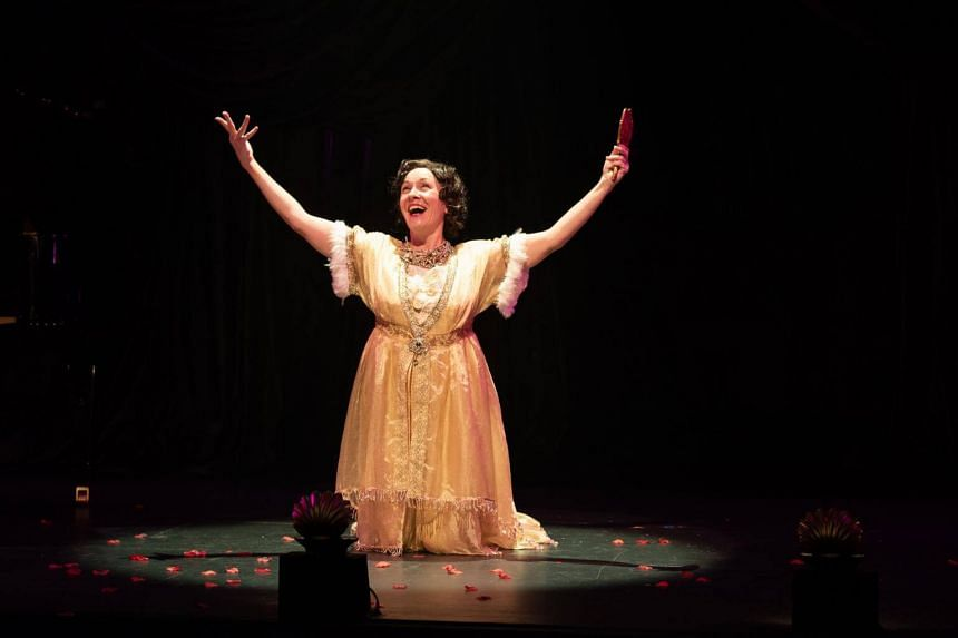 British actress Leigh McDonald, as Jenkins in Souvenir.