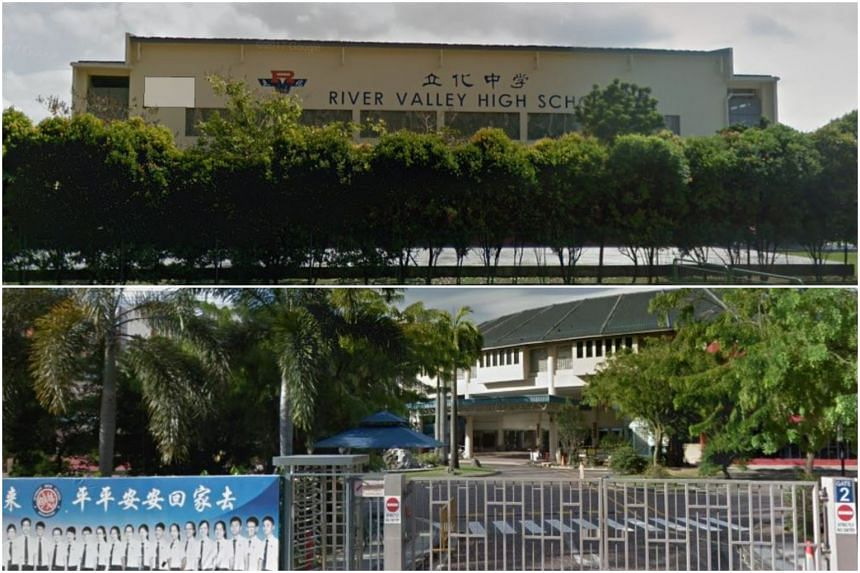 Both River Valley High School and Dunman High School currently do not admit O-level students from other secondary schools into their junior college levels.