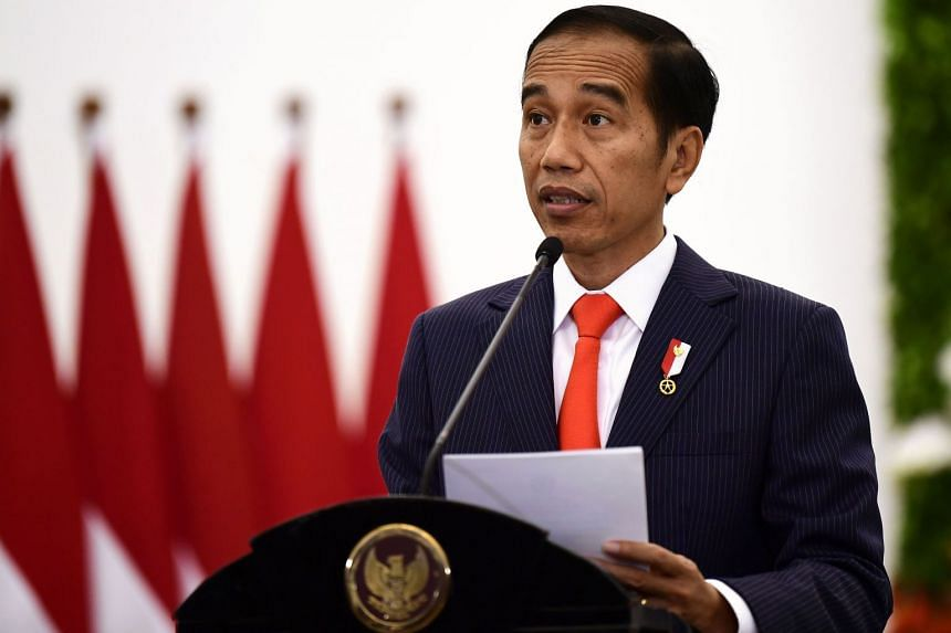 Indonesian President Joko Widodo (above) is seeking to repeat his 2014 victory, when he won narrowly against Prabowo Subianto.